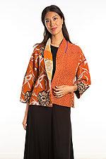 Cropped Jacket #4 by Mieko Mintz  (One Size (4-14), Cotton Jacket)