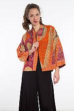 Cropped Jacket #10 by Mieko Mintz  (One Size (4-14), Cotton Jacket)