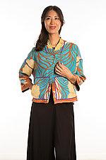 Cropped Jacket #2 by Mieko Mintz  (One Size (4-14), Cotton Jacket)