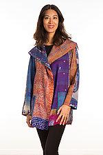 Pocket Jacket #18 by Mieko Mintz  (One Size (2-14), Silk Jacket)