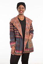 Pocket Jacket #17 by Mieko Mintz  (One Size (2-14), Silk/Cotton Jacket)