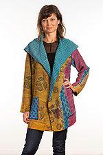 Pocket Jacket #12 by Mieko Mintz  (One Size (2-14), Silk/Cotton Jacket)
