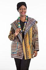 Pocket Jacket #14 by Mieko Mintz  (One Size (2-14), Silk/Cotton Jacket)