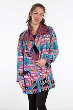 Pocket Jacket #11 by Mieko Mintz  (One Size (2-14), Cotton Jacket)
