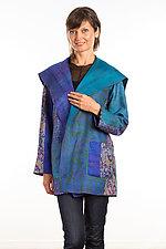 Pocket Jacket #22 by Mieko Mintz  (One Size (2-14), Silk Jacket)