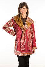 Pocket Jacket #3 by Mieko Mintz  (One Size (2-14), Cotton Jacket)