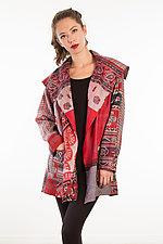 Pocket Jacket #24 by Mieko Mintz  (One Size (2-14), Silk Jacket)