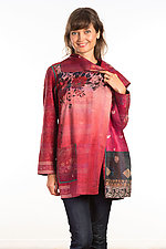 Pocket Jacket #23 by Mieko Mintz  (One Size (2-14), Silk Jacket)