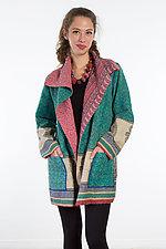Pocket Jacket #9 by Mieko Mintz  (One Size (2-14), Cotton Jacket)