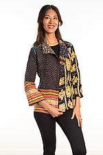Short Jacket #4 by Mieko Mintz  (Size Small (6-8), Cotton Jacket)