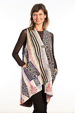 Wrap Vest #1 by Mieko Mintz  (Size 1 (2-14), Cotton Vest)