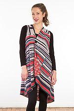 Wrap Vest #5 by Mieko Mintz  (Size 1 (2-14), Silk/Cotton Vest)