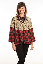 Short Jacket #3 by Mieko Mintz  (Size Medium (10-12), Cotton Jacket)