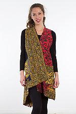 Wrap Vest #3 by Mieko Mintz  (Size 1 (2-14), Cotton Vest)