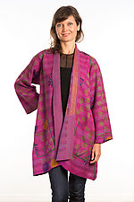 A-Line Jacket #14 by Mieko Mintz  (Size 1 (2-12), Silk/Cotton Jacket)
