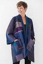 A-Line Jacket #16 by Mieko Mintz  (Size 1 (4-16), Silk/Cotton Jacket)