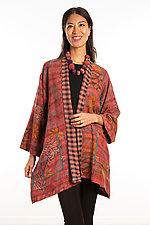 A-Line Jacket #13 by Mieko Mintz  (Size 1 (2-12), Silk/Cotton Jacket)