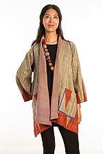 A-Line Jacket #12 by Mieko Mintz  (Size 1 (2-12), Silk/Cotton Jacket)