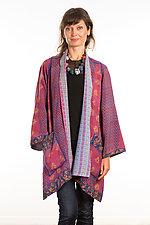 A-Line Jacket #11 by Mieko Mintz  (Size 1 (2-12), Silk/Cotton Jacket)