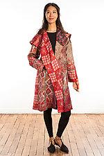 A-Line Coat #7 by Mieko Mintz  (One Size (2-16), Silk Coat)