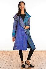 A-Line Coat #8 by Mieko Mintz  (One Size (2-16), Silk Coat)