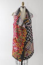 Double Breasted Vest by Mieko Mintz  (Woven Vest)
