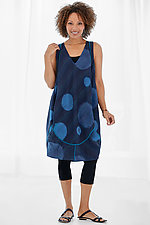 Kantha Bubble Dress by Mieko Mintz (Woven Dress)
