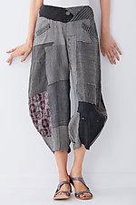 Patched Harem Pant by Mieko Mintz  (Woven Pant)