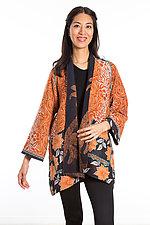 A-Line Jacket #11 by Mieko Mintz  (Size 0 (2-6), Cotton Jacket)