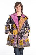 Back Tuck Jacket #5 by Mieko Mintz  (One Size (0-8), Cotton Jacket)
