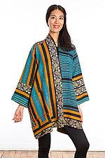 A-Line Jacket #7 by Mieko Mintz  (Size 2 (16-18), Cotton Jacket)