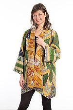 A-Line Jacket #5 by Mieko Mintz  (Size 1 (8-14), Cotton Jacket)