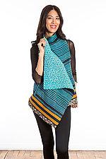 Drape Collar Vest #1 by Mieko Mintz  (One Size (2-12), Cotton Vest)