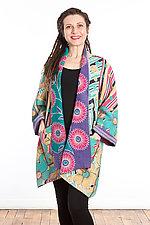 A-Line Jacket #2 by Mieko Mintz  (Size 1 (8-14), Cotton Jacket)