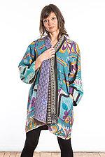 A-Line Jacket #14 by Mieko Mintz  (Size 2 (16-18), Cotton Jacket)
