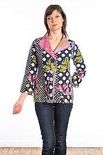 Short Jacket #4 by Mieko Mintz  (Size Small (2-4), Cotton Jacket)