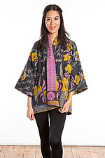 Kimono Jacket #8 by Mieko Mintz  (One Size (2-16), Cotton Jacket)