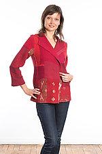 Short Jacket #8 by Mieko Mintz  (Size Medium (6-8), Cotton Jacket)