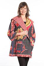 Back Tuck Jacket #2 by Mieko Mintz  (One Size (0-8), Cotton Jacket)