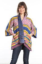 Kimono Jacket #4 by Mieko Mintz  (One Size (2-16), Cotton Jacket)