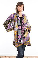 A-Line Jacket #10 by Mieko Mintz  (Size 1 (8-14), Cotton Jacket)