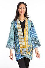 A-Line Jacket #12 by Mieko Mintz  (Size 0 (2-6), Cotton Jacket)