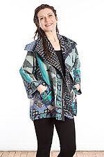 Flare Jacket #2 by Mieko Mintz  (One Size (2-14), Cotton Jacket)