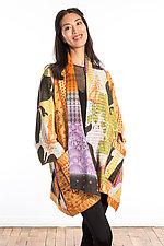 A-Line Jacket #3 by Mieko Mintz  (Size 1 (8-14), Cotton Jacket)