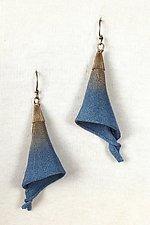 Mesh Lily Dangle Earring by Sarah Cavender (Metal Earrings)