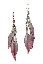 Leaf Drop Earring by Sarah Cavender (Metal Earrings)