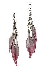Leaf Drop Earring by Sarah Cavender (Metal Earrings)