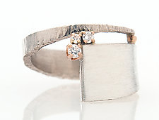 Sparkle Ring by Dagmara Costello (Silver & Stone Ring)