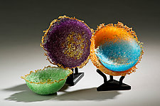 Sea Jewels II by Alison Sigethy (Art Glass Sculpture)