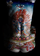 Tibetan Reflections by Michael Williams (Color Photograph)